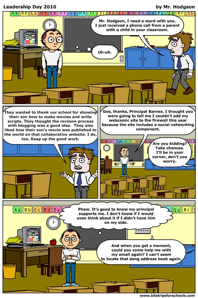 Leadership Day 2010 Comic