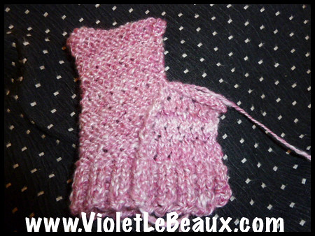 Knitted Gloves Tutorial