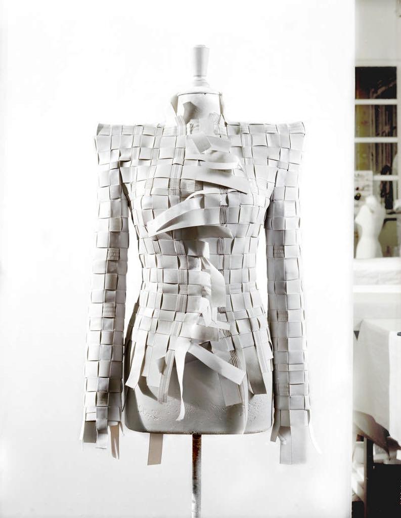 Maison Martin Margiela Artisanal elastic band jacket