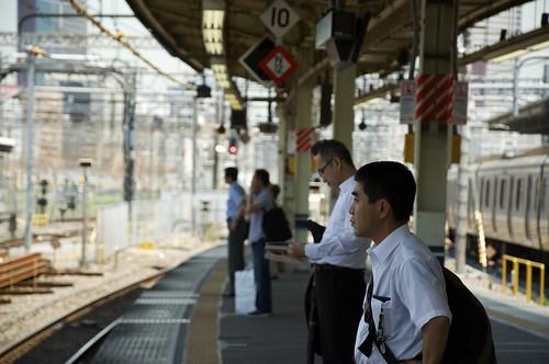 Al tren esperan