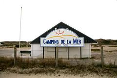"""Stella-Plage, Pas-de-Calais, cours des champs Elysées : """" Camping de la Mer """""""