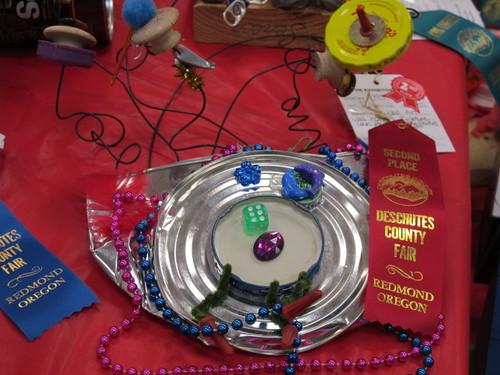 Lil' Mermaid's Recycle Art Fair Entry