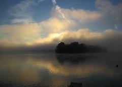 (saladito) Tags: lake sunrise dock upstatenewyork lakemoraine hamiltion