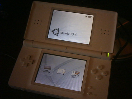 my nintendo DS with Ubuntu :)