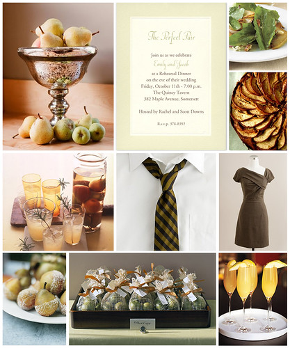 The Perfect Pair Rehearsal Dinner