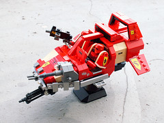 Space Marine Land Speeder (Jerac) Tags: lego space warhammer marines 40000 wh40k