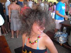 dancing (Misa84) Tags: sea summer vacation italy sun mer holiday love fun freedom vacances soleil amusement italia mare estate amour libert sole t amore puglia italie vacanza libert divertimento