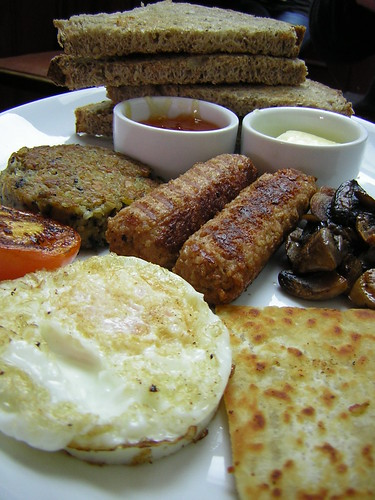Scottish veggie breakfast
