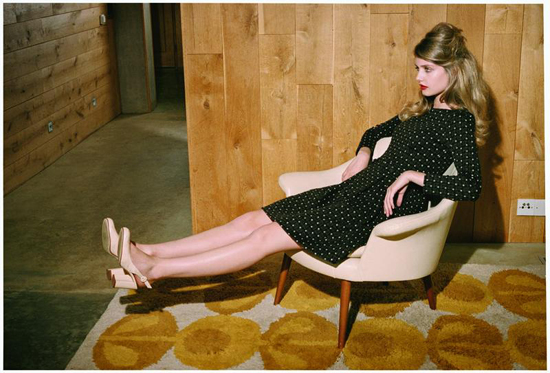Venetia Scott for Orla Kiely F/W 2010