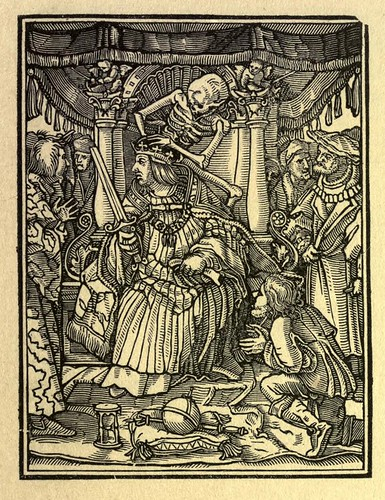 004-El emperador-The Dance of death…1833-Hans Holbein