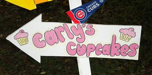 my cupcake sign!!