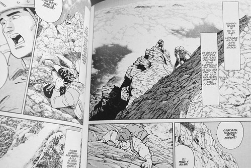 BD: montagne & alpinisme: picture Le sommet des dieux by danielbroche