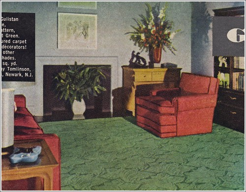 carpet the american home 1950