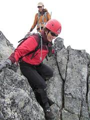 Cypress Peak descent.. leaving the summit of Cypress Peak.. (iwona_kellie) Tags: friends summer snow canada rock britishcolumbia anniversary rocky glacier celebration summit scramble cypresspeak roecreek squamishcheakamusdivide 2083meters returnafter4years