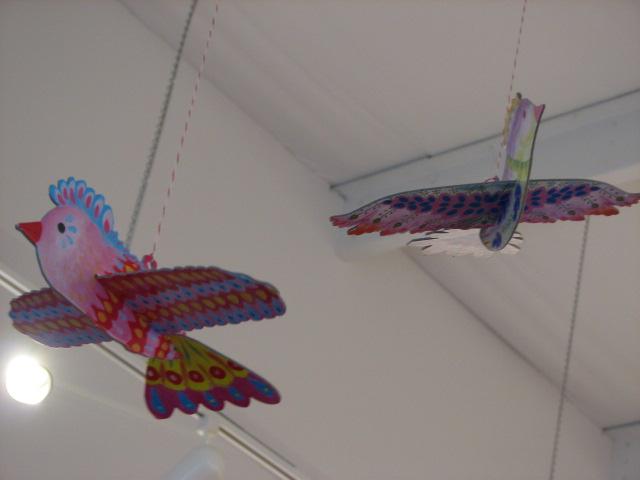 hanging birds 2