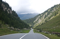 Down the Passo Della Novena (Alastair Cummins) Tags: road mountains alps switzerland pass della passo novena nerfenen