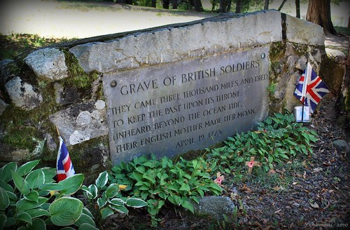 Grave of British Soldiers at the Old North Bridge