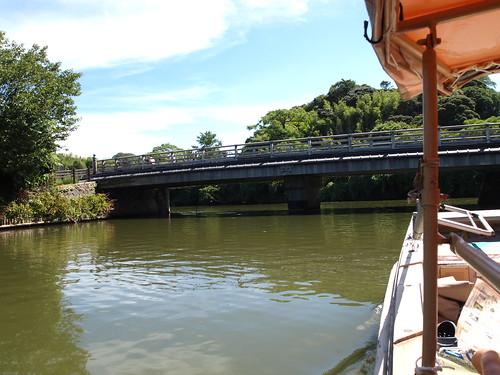 堀川遊覧船から見た眺め