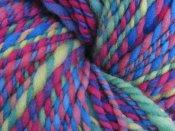 "3.8 oz 2 ply Hand Spun Merino Wool Aran Yarn ""Rainbow"""