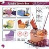 Jumbo Lunch Box ; Rp. 128.000
