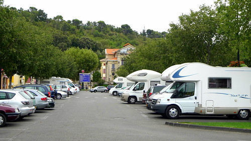 tourisme camping-cars, cours Aristide Briand (ORANGE,FR84)