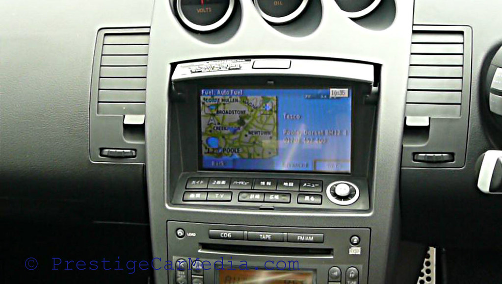 Nissan 350Z Speed Camera Postcode Navigation 10001