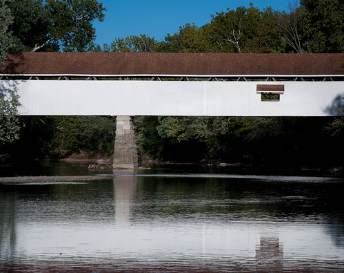 Covered Bridge at Potters Mill