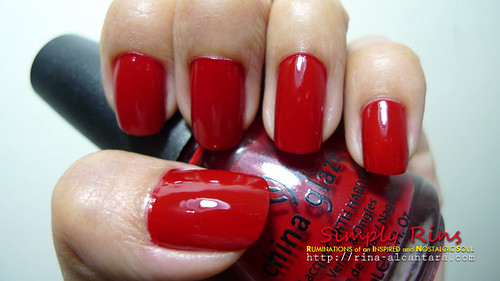 Nail Art Red Butterflies 01