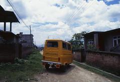 1997_Nepal_EV_031 (Ryuichi_KINO) Tags: nepal ev kathmandu tempo safa electricvehicle