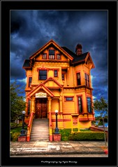 081710 Eureka 180 (Kyle Bailey - Da Big Cheeze) Tags: california northerncalifornia architecture victorian gingerbread hdr eureka kylebailey rookiephoto dabigcheeze wwwrookiephotocom