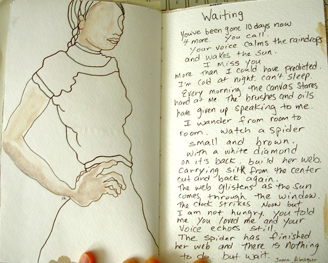 Waiting - 2001 Sketchbook Project