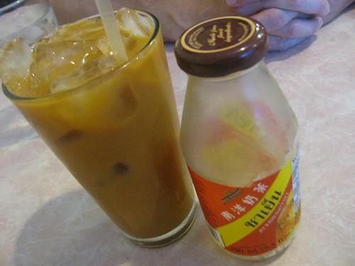 Thai tea at Davang in Phoenix