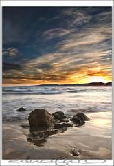 puesta de sol (educifu photo ) Tags: sunset sea sol de mar nikon playa tokina cap edu puesta rocas salou cifuentes d90 1116