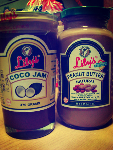 Coco Jam and Peanut Butter!