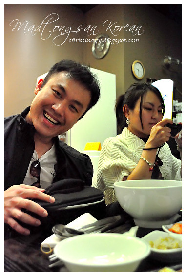Madtongsan Korean Cuisine: My Boi and Vera