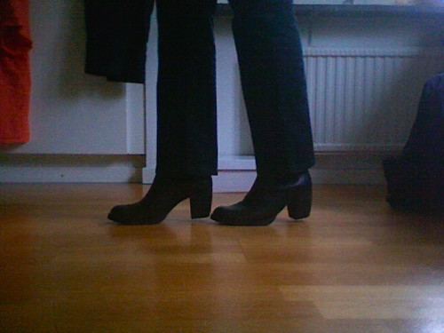 new black shoes
