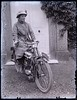 """Lady on early Levis motorcycle, c. 1915 • <a style=""""font-size:0.8em;"""" href=""""http://www.flickr.com/photos/24469639@N00/4977547783/"""" target=""""_blank"""">View on Flickr</a>"""