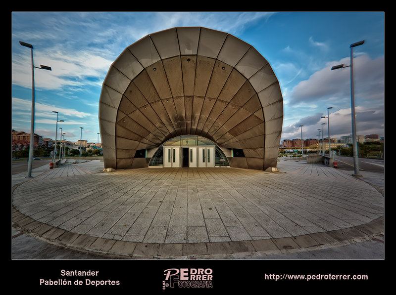 Pabellón deportivo de Santander