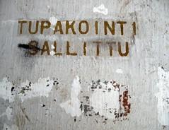 Smoking permitted (neppanen) Tags: finland smokin permitted pori tupakointi discounterintelligence sallittu sampen