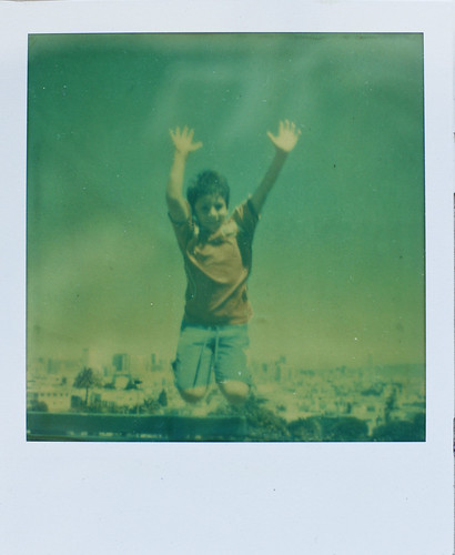 Polaroid SX 70, Impossible Project films and sparking creativity by orange photography