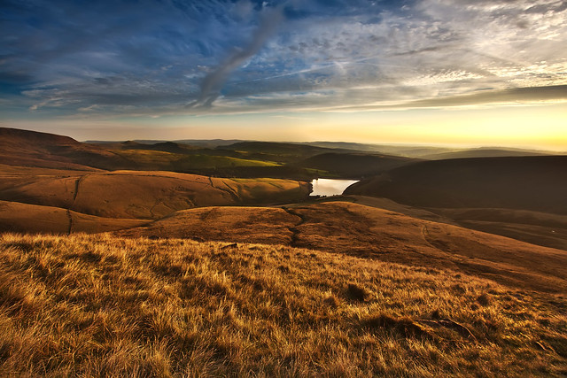 England, The Peak District, Kinder Scout