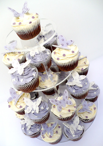 Butterfly Cupcake Tower