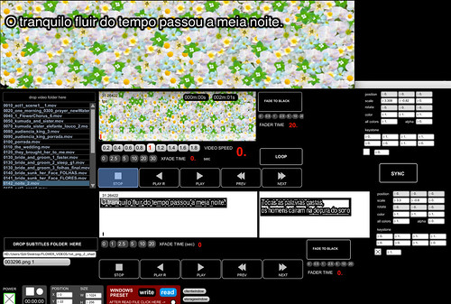 Flowering Tree - subtitles and video player program