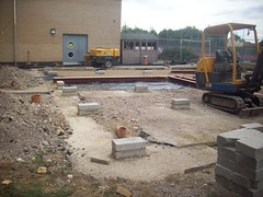 Completed Foundations (AdrianDay) Tags: classroom modular