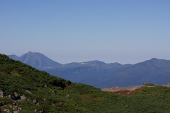 オプタテシケ山も見えてくる