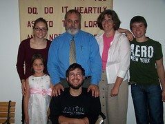 Pastor Waggoner and Family