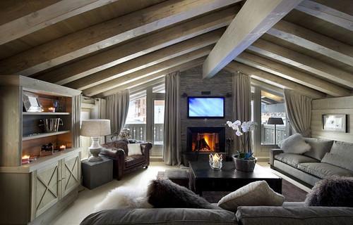 Ecologis: Idées Déco intérieur bois - Décoration Maison Chalet