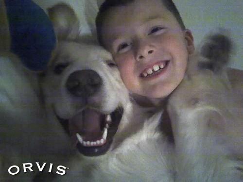 Orvis Cover Dog Contest - Luke Skywalker
