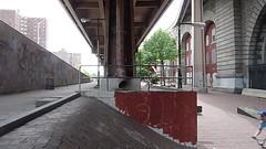 footjam whip on a sunday model-c (smoovebert) Tags: brooklyn sunday bikes banks modelc