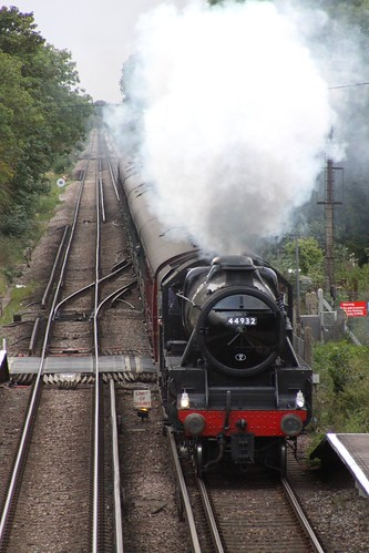Steaming through Minster